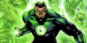 Kobe in his superhero form: Green Lantern