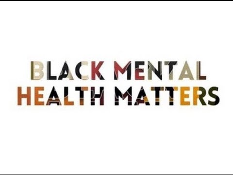 Black Men: It's OK To Seek Help For Mental Health Issues